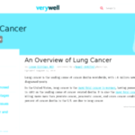 What you ought to learn about cancer of the lung and treatments