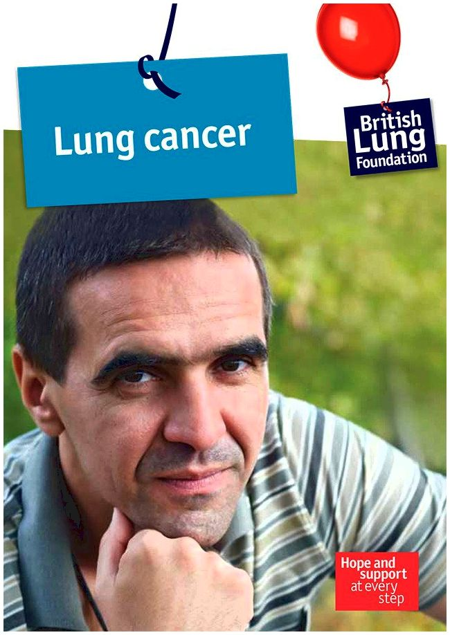Cancer of the lung booklet the Surgeon