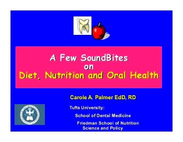 Diet during treatment - the dental cancer foundation given beta-carotene along