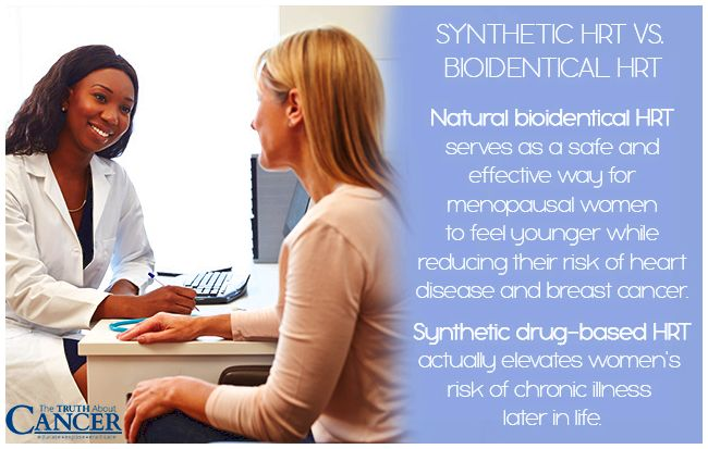 Natural bioidentical HRT VS Synthetic drug-based HRT