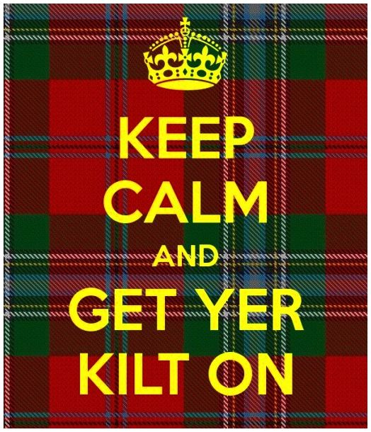 Kilted to kick cancer share our visions and purpose