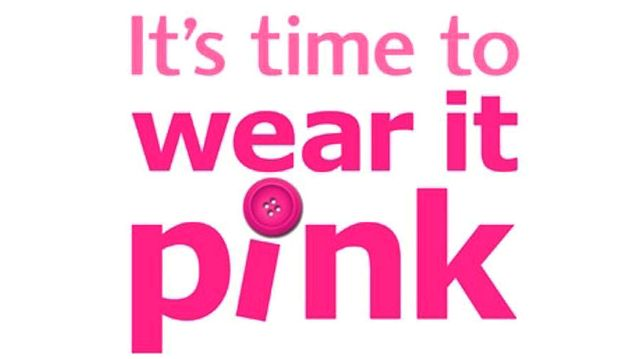 """think before you decide to pink"" at tonight's cancer of the breast awareness event It appears simpler to"